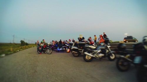 Motorcycles in the Crimea, Yevpatoria
