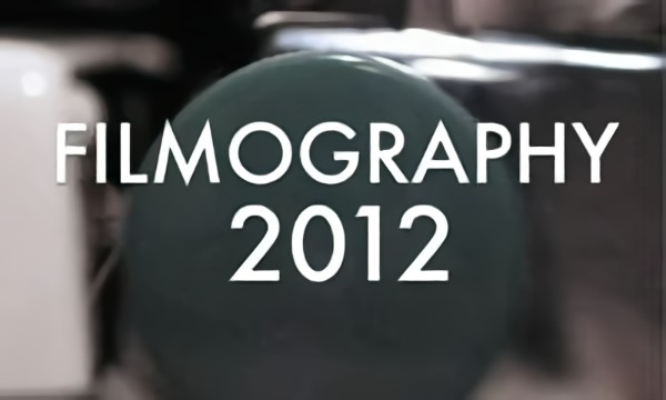 Filmography 2012