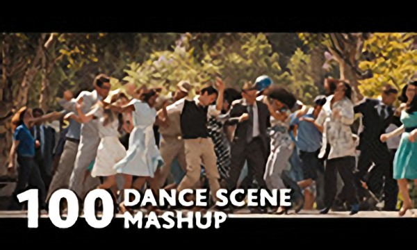 100 Movies Dance Scenes Mashup