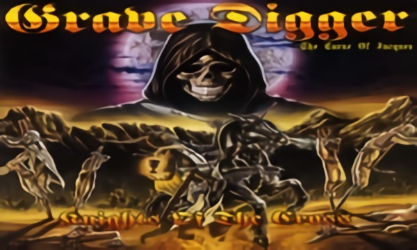 Grave Digger - The Curse Of Jacques