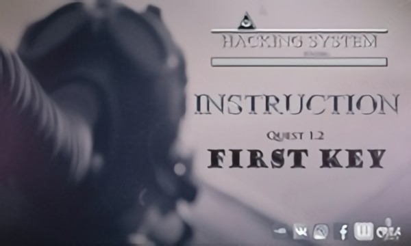 Instruction || First Key. Quest 1.2