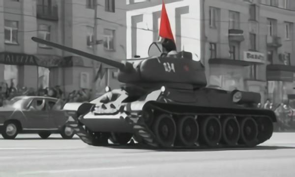 Парад в Танкограде