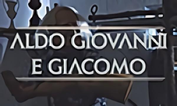 Aldo Giovanni e Giacomo X Baccano! Opening