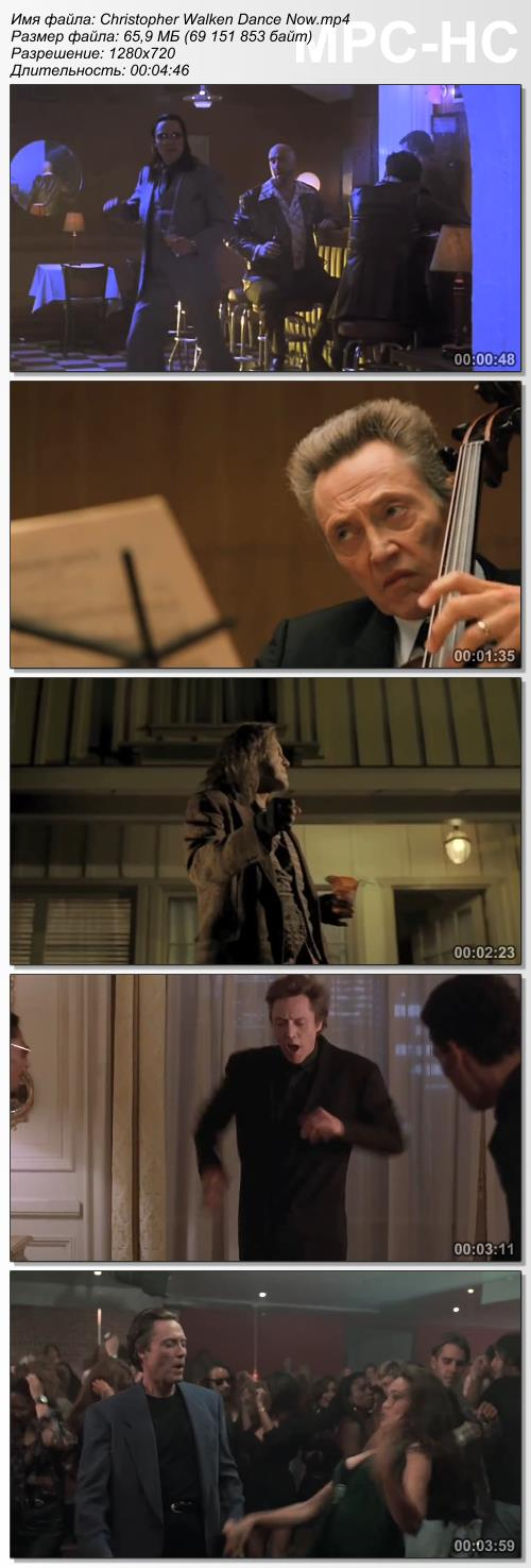 Christopher Walken Dance Now