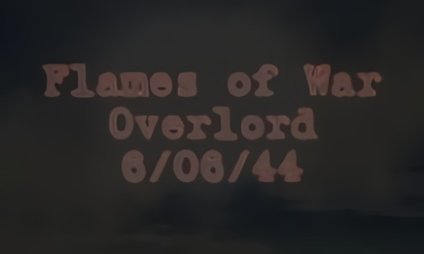 Flames of War: Overlord